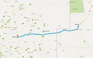 Ghanzi-Windhoek